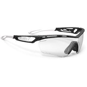 Rudy Project Tralyx Okulary rowerowe, carbonium - impactx photochromic 2 laser black